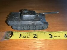 1940's German Panther Royal Tiger Tank Authenticast Comet Metal 1/108