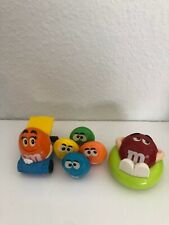Burger King M & M's fast food toys Peanut, Chocolate, Cripsy, Chunky,