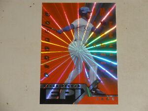 1998 Pinnacle Epix Game Orange #1 Ken Griffey Jr