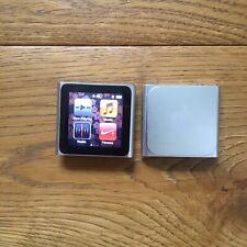 Dos Apple Ipod Nano 6th generación 8GB-Plata un trabajo uno para reparación
