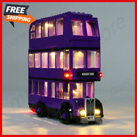 LED Light Up Kit For LEGO 75957 The Knight Bus Lighting Set building kit Bus