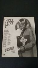"BLACK SABBATH  "" HEADLESS CROSS "" 1989  RARE ORIGINAL PRINT PROMO POSTER AD"