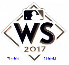 Official 2017 MLB World Series Patch Los Angeles Dodgers vs Houston Astros
