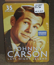Johnny Carson Late Night Legend DVD 4-Disc Set Tin Case New