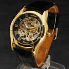 WINNER Brand New Men's Automatic Mechancial Watch Stylish Skeleton Case Uhr