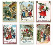 *EDITION TAUSENDSCHÖN*Weihnachten*Postkarte*Santa mit Kindern*Nostalgie*A6