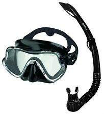 Mares Pure Vision Black Silicone Mask & Snorkel Set.