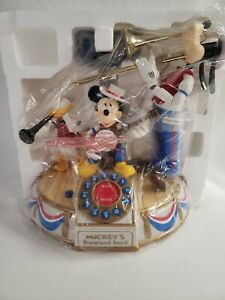 Disney's Mickey Mouse Musical Animated Dixieland Band Telephone New NO outer box