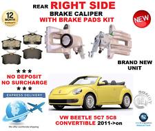 für VW Käfer 5C7 5C8 Cabrio 2011> HA rechts Bremssattel + Belag Set