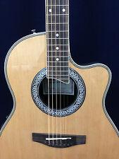 """Caraya SP-721CEQ/N 41"""" Round Back Electro-Acoustic Guitar, EQ. w/Free Gig Bag"""