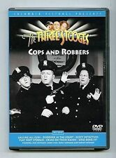 The Three Stooges - Cops and Robbers (DVD, 2002) WORLD SHIP AVAIL