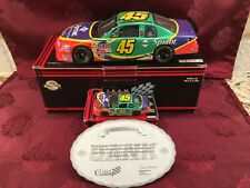ADAM PETTY 1999 Sprint #45 Team Caliber 1/24 CW Bank & 1/64 HO Car Diecast SET
