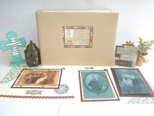 Family Heritage Scrapbook Album, 8 1/2 x 11, Ready for 4 by 6 photos