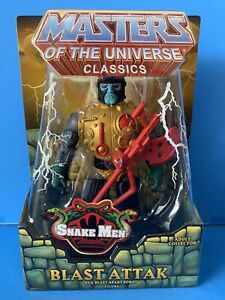 Masters of the Universe Classics Blast Attak  Snake Men MOC 100% Complete