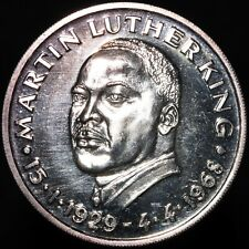More details for 1929-1968   u.s.a. martin luther king medal   silver   medals   km coins