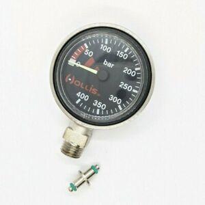 Hollis Low Profile Brass SPG Pressure Gauge