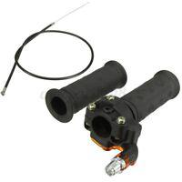 Coppia 7/8'' 22mm Manopola Gas Manubri Rapido Cavo Per 90 110 125CC Atv Quad