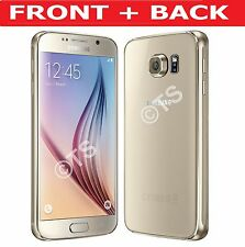 FULL FRONT & BACK  BODY TEMPERED GLASS SCREEN PROTECTORS FOR SAMSUNG GALAXY S6
