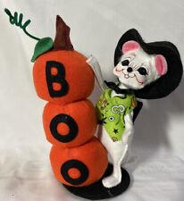 "RARE Annalee Halloween Doll ~ BOO MOUSE ~ 7"" Tall"