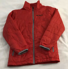 Boys Columbia Winter Coat Omni-Heat Size Youth Small Red