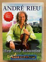 André Rieu New York Memories Live DVD Classical Music Concert Performance Gig