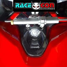 Ducati 848 1098 1198 carbon fibre key guard 100% carbon