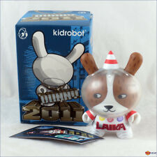 Kidrobot Dunny 2011 series Laika the Space Dog astronauat with worn box