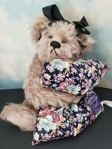 Annette Funicello Pillow Talk Teddy Bear 100% Mohair Limited Edition Rare 12""