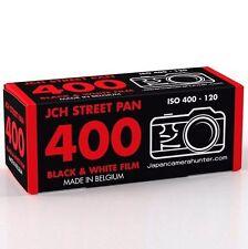 JCH STREET PAN 400 ISO Black & White B&W 120 Medium Format Film StreetPan 07/21
