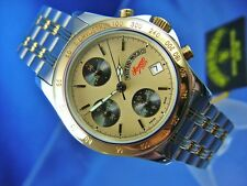 Rare West End Watch CO Sowan Automatic Chronograph Valjoux 7750 Watch NOS 1990S
