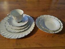 98 Pcs. Set Harmony House Heirloom Fine China 3512 Setting for 12 & Serving Dish
