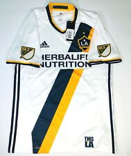 Adidas LA Galaxy Authentic MLS Home Jersey Size Large Style AB9412