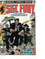 Sgt. Fury #154 app. Captain Savage & his Leatherneck Raiders Marvel 1979 VF