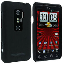 Body Glove Black Snap-On Hard Case Cover for HTC Evo 3D