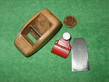 Vintage Stanley Block Plane Mini Wood Finger Woodworking Plane Made in USA