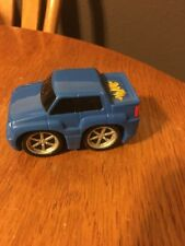 2006 Burger King kids meal ~ Chub City Blue car Jada Toys Pull Back Action