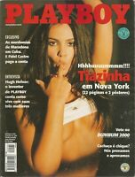 PLAYBOY MAGAZINE BRAZIL # 296 - TIAZINHA (2) -  MAR 2000 HOT!!