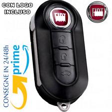 Chiave Telecomando Guscio per FIAT 500L PUNTO EVO PANDA LANCIA MUSA YPSILON-logo