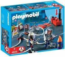 Playmobil 4825 - Bomberos Con Bomba De Agua - NUEVO
