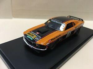 1/43  TRR91 1969 Ford Mustang Touring Car Masters John Bowe Orange