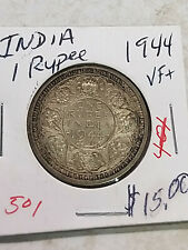 Coin - India - British - 1944 - VF+ - 1 Rupee