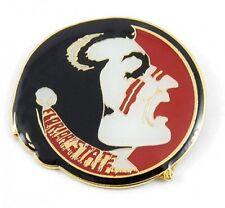 "Florida State Seminoles Lapel Pin College Logo 1"" HIgh NCAA Licensed"