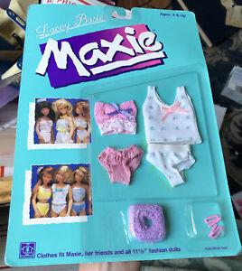 Sealed 1988 Lacey Basics MAXIE Pink Bra & Panties by HASBRO, 8280 NIP
