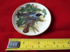 FRANKLIN PORCELAIN SONGBIRDS OF THE WORLD MINI PLATE. #24