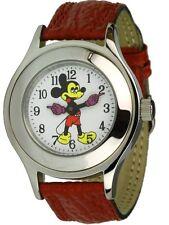Mickey Mouse Damenuhr Schweizer BFG-Werk Handaufzug Micki Maus Uhr