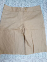 NWT George Women's Urban Khaki Modern Fit Relaxed Bermuda Short Size 12