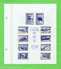 #T6.  SNOW SCENES  SERIES MATCHBOX LABEL SET