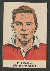 THOMPSON Wizard comic issue Manchester United ENGLAND Duncan Edwards 1955