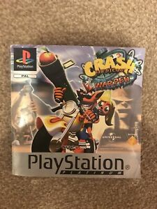 Crash Bandicoot 3: Warped Platinum, Sony Playstation 1 Manual.