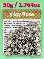 50g - Alloy Rose / Rose's metal / Roses metal (Lead, Bismuth, Tin alloy)